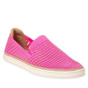 UGG Sammy Breeze Slip-On Sneaker Neon Pink Sz 6.5